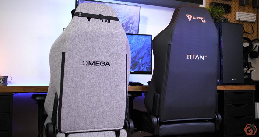 Comparatif des sièges SecretLab