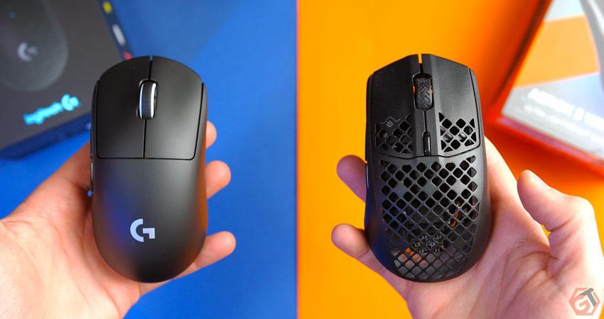 G Pro X Superlight ou SteelSeries Aerox 3 Wireless
