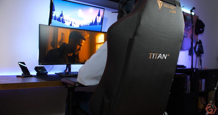 Confort de la SecretLab Titan XL