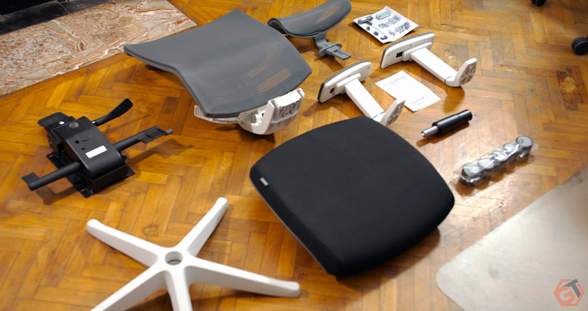 Unboxing Ergo Chair 2