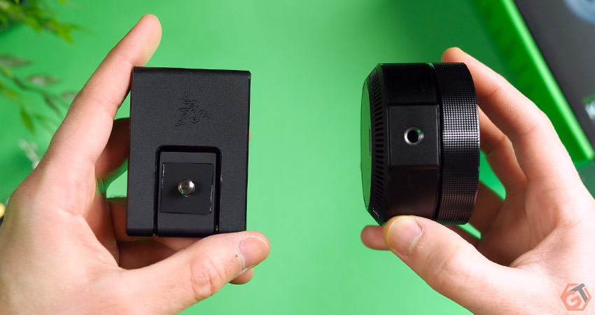 La webcam peut etre monté sur un trépied