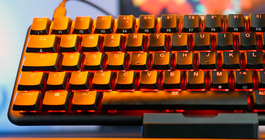 Performances des switches Fnatic Speed