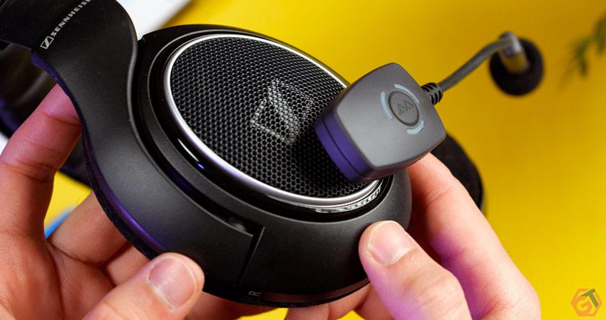 Microphone sans-fil pour casque audio