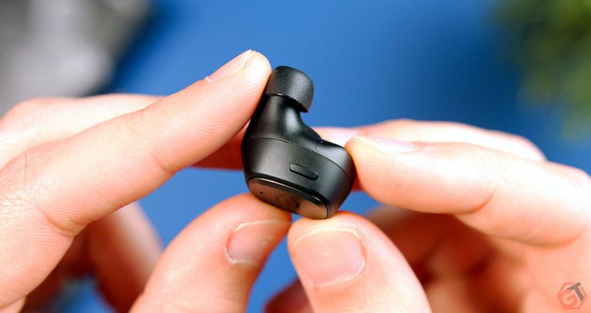 Le seul et unique bouton des écouteurs