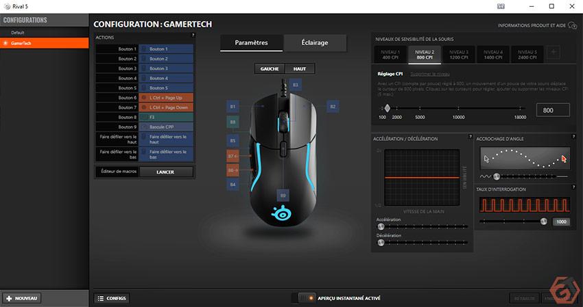 Logiciel SteelSeries Engine 3