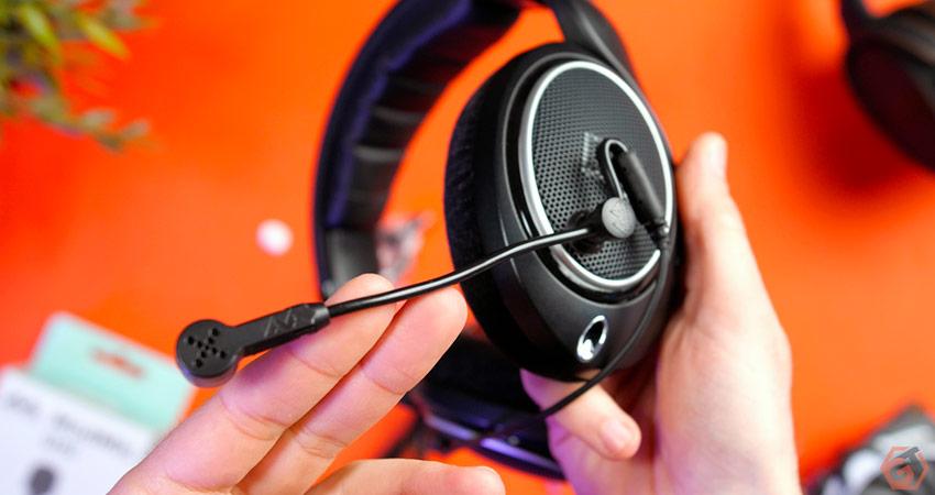 Microphone pour casque hifi