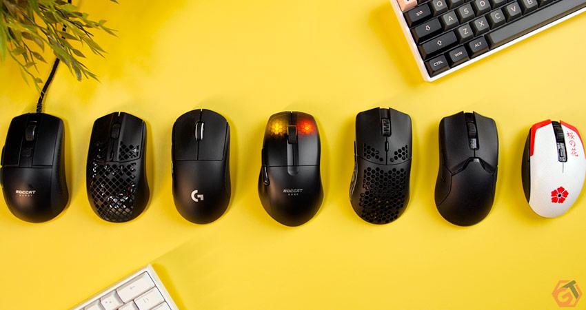 Comparatif des souris gamer légères et sans-fil