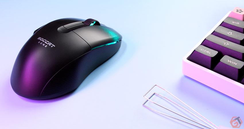 La souris fonctionne en Bluetooth, 2.4 Gjz et USB
