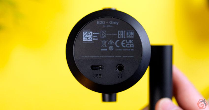 Microphone en USB-C